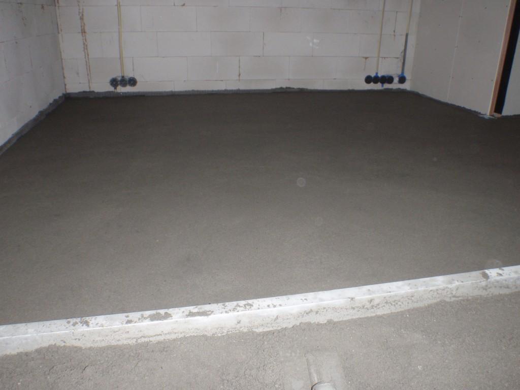 afwerkvloer over vloerverwarming 3