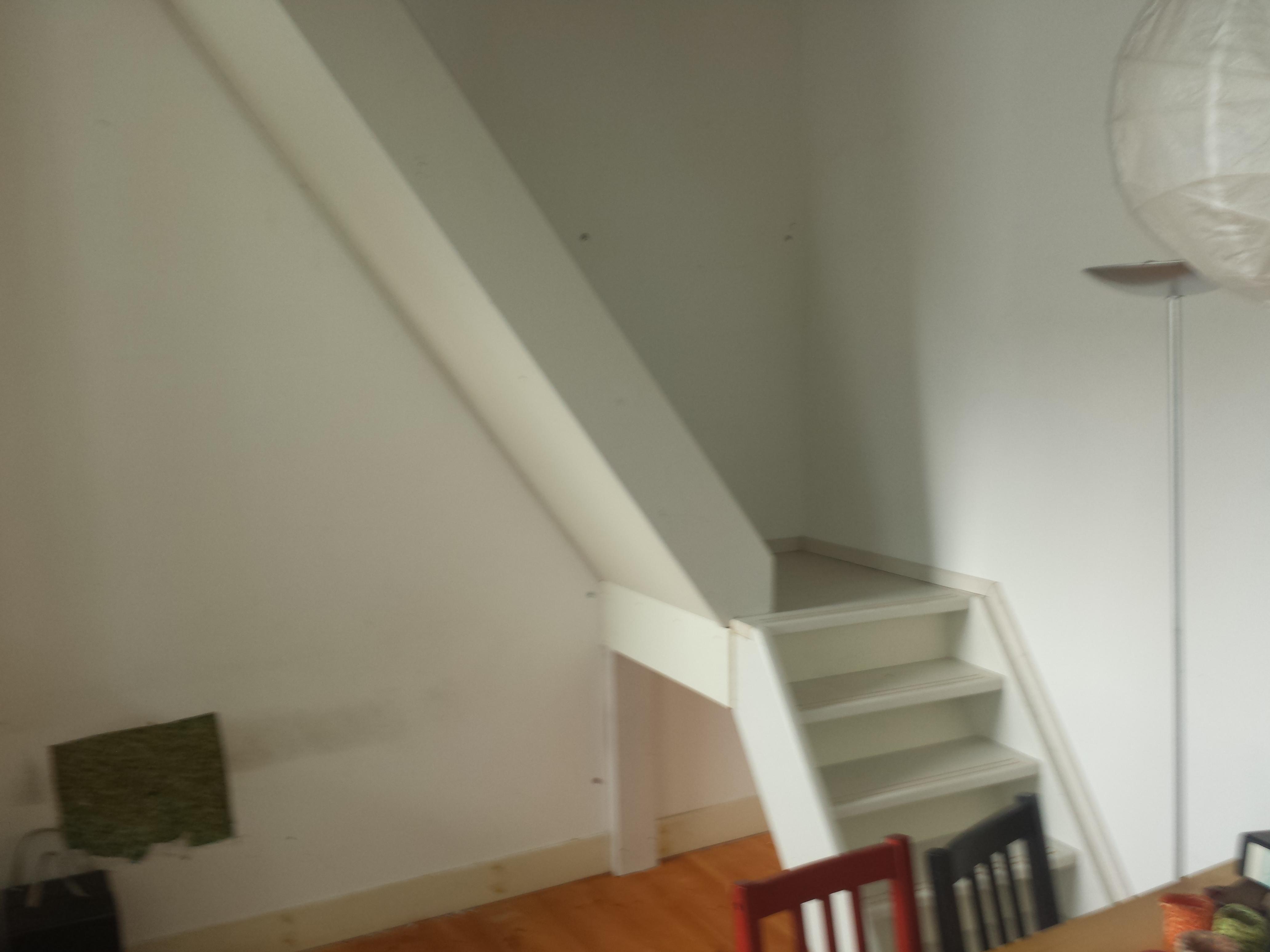 trap geplaatst